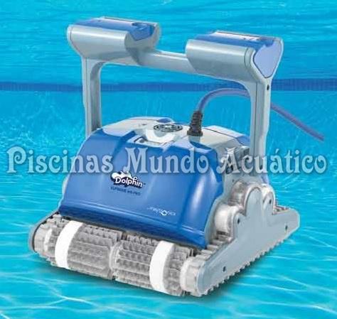 Limpiafondos autom tico electr nico para piscina dolphin for Limpiafondos automaticos para piscinas