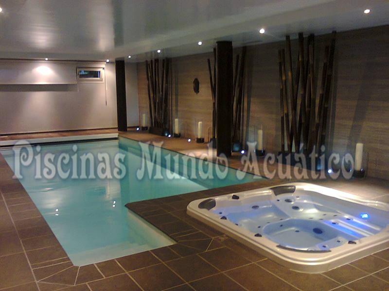 Piscina y Spa en Villanueva